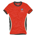 MV AGUSTA T-Shirt Rouge/Noir MV119M000RE3XL