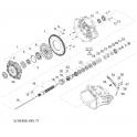 MOTO GUZZI Anneau élastique embrayage 974165