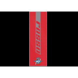 MV AGUSTA Tapis de sol rosso 8000C9200